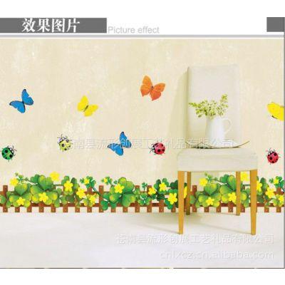 供应批发 DLX926三代可移墙贴 PVC透明膜 家装墙贴