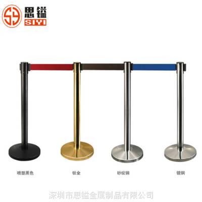 思镒金属LG-M不锈钢伸缩排队栏杆座
