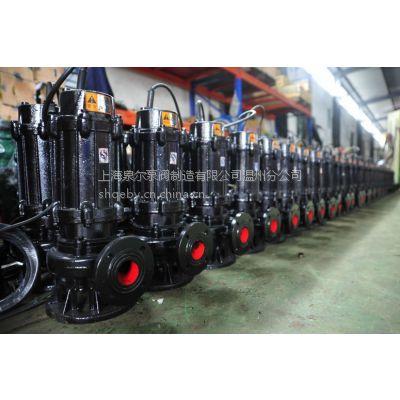 5.5KW无堵塞排污泵WQ100-110-10电动厂家直销