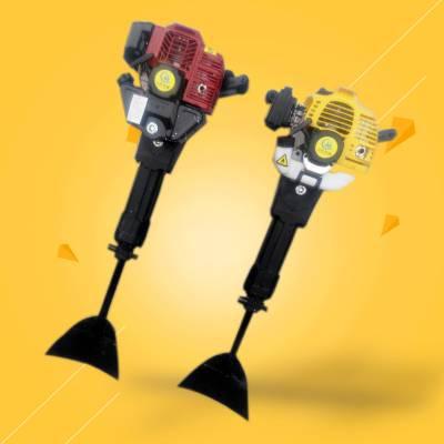 启航牌便携式挖树机 动力起树机器断根机 带土球挖树机