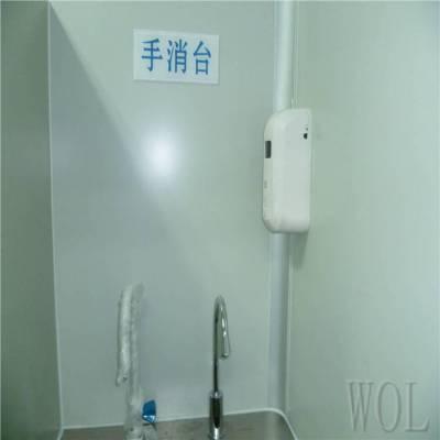 WOL 厂家承接无尘车间风淋室 洁净厂房风淋室定制安装
