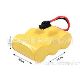 松下panasonic无绳电话电池HHR-P301,2-3AA*3,MSM