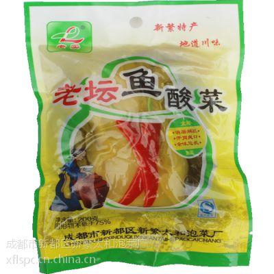 四川泡菜新繁泡菜400g厂家厂价销售