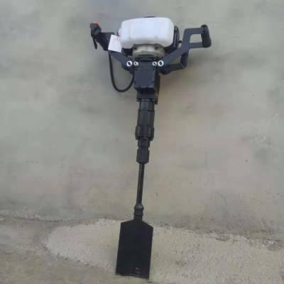 启航牌 园林专用手持式起树机 带土链条式移栽机 大马力铲头式起树机