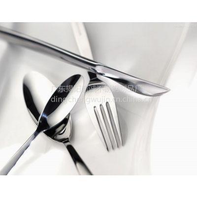 揭阳不锈钢餐具 勺子 不锈钢尖勺 汤勺 酒店必备 居家