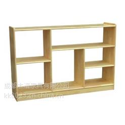 供应崇州幼儿园家具玩具柜松木原材
