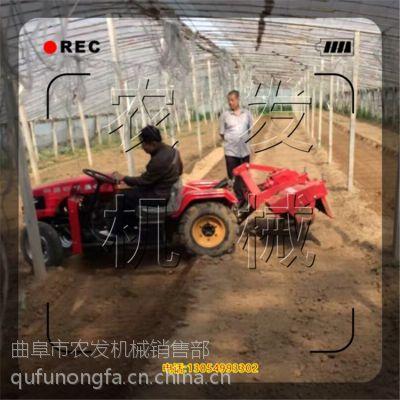 拜泉中耕机小型农耕机农发 拖拉机带的小型农业机械2017新款起垄机
