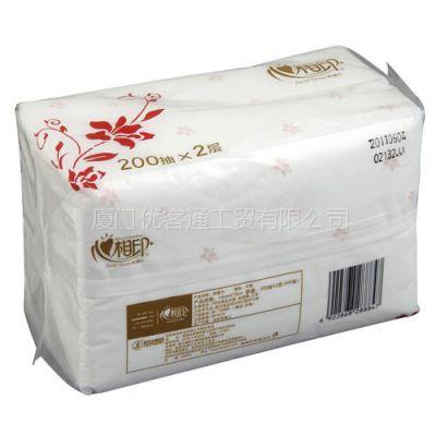 供应厦门心相印软抽面巾纸供应