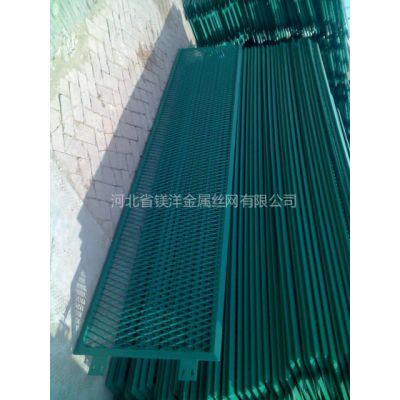 供应内蒙古包头钢板网。钢板网护栏网。浸塑钢板网护栏