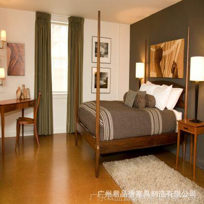 厂家直销酒店客房成套家具 简约双人床成套家具套装定做批发