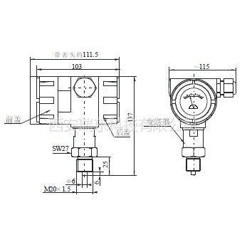 供应麦克压力变送器MPM型号 西安生产厂商供应
