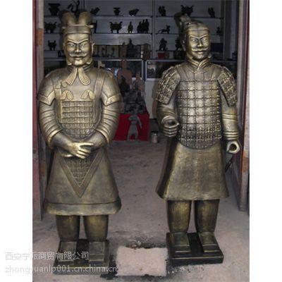 陕西临潼兵马俑工艺品 兵马俑工艺品 陶土兵马俑工艺品