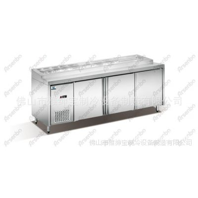 UA-30L4卧式冰柜 冷藏柜 保鲜柜 西餐饮设备 四门冰柜 商用冰柜