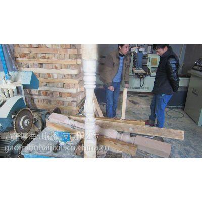 数控木工车床ERGC型车拉雕刻双铣双拉槽多功能车床