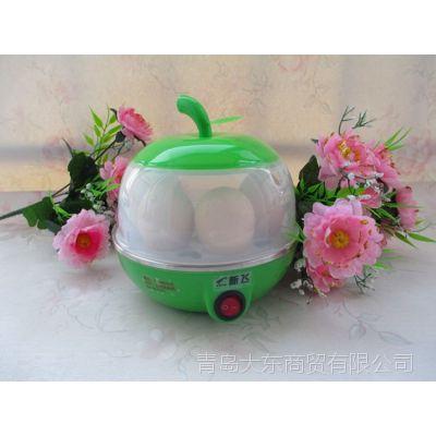 正品新飞 苹果多功能蒸蛋器煮蛋器 不锈钢底盘自动断电防干烧