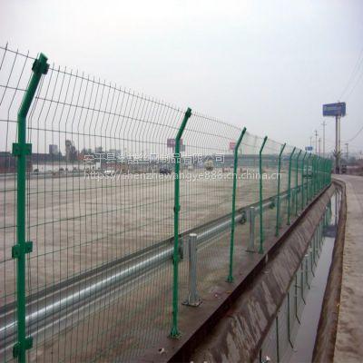 加强弯果园隔离护栏网 双边丝安全防护网 绿色铁丝养殖网
