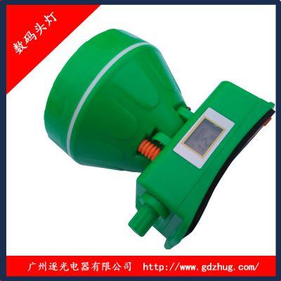 逐光8661 LCD调光带电量显示的头灯批发
