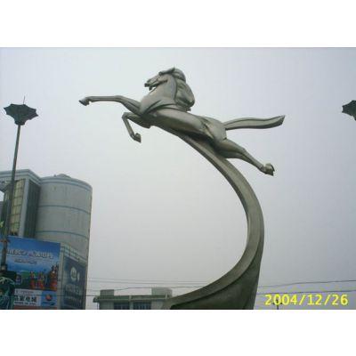 供应不锈钢城市园林美化雕塑 不锈钢人物.动物雕塑