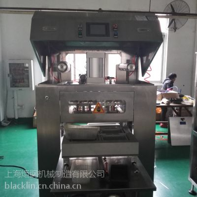周黑鸭锁鲜装包装机MVP-1D400双工位盒式充气包装机炬钢机械