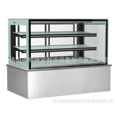 LA640V日式直角45蛋糕柜 采蝶轩蛋糕保鲜柜 广东冷柜 冷柜厂家