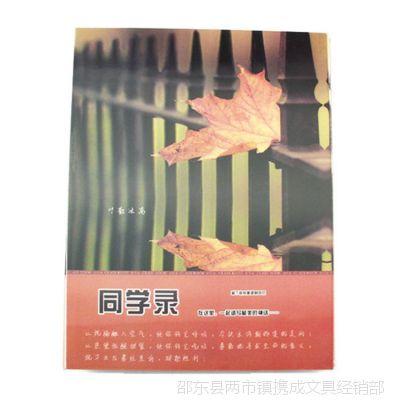 【3D三维新款】韩国创意文具 记忆同学录 A4活页校友录 留言册