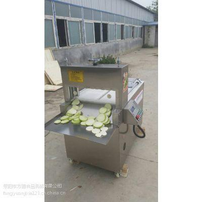 冻羊肉切片机郑州方圆食品机械生产