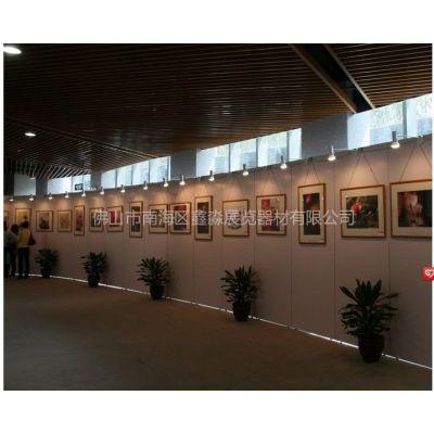 供应香港展会北京大学书画展 摄影展展板 八棱柱屏风展示架 学校作品展 展览展示宣传