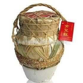 供应绍兴黄酒 竹编女儿红 花雕黄酒 5公斤/坛 18957511186