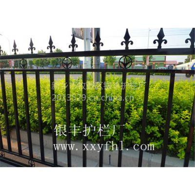 供应河南焦作景观度假村锌合金护栏 热镀锌围栏 新型美观结实高强度护栏