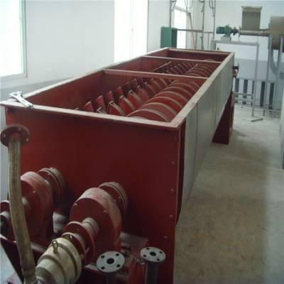 电镀污泥空心桨叶烘干机 电镀污泥双轴桨叶干燥机常州杰创干燥优化产品