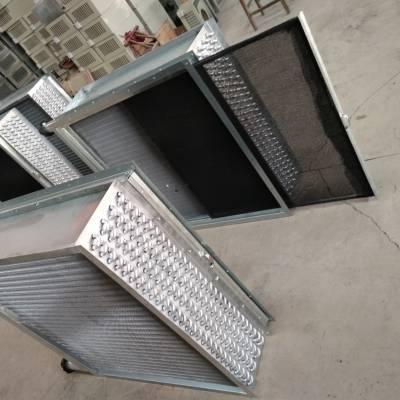 冷热水降温采暖铜管换热器 表冷器 散热器 暖气片