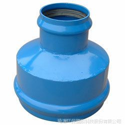 钢塑双承管箍直接异径管UPVC卫生级双承大小头异径接头订制大口径