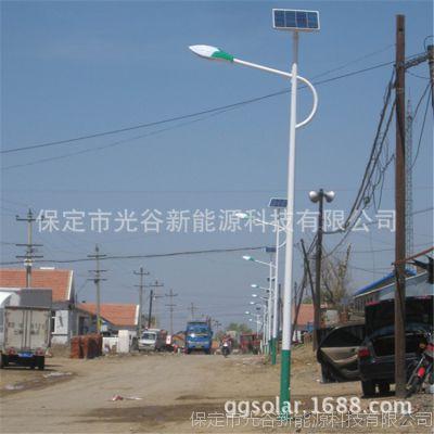太阳能灯厂家 单头双头LED路灯 光控太阳能路灯
