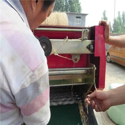 润丰牌秸秆打捆包膜机 易保存的秸秆打捆包膜机