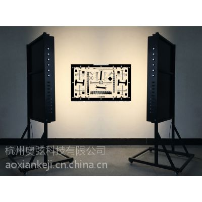 杭州奥弦科技 摄像机测试灯箱立式两面光源 支持8种光源,支持1.5米*1米大尺寸测试卡