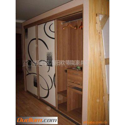 供应OEM加工 卧室 板式 嵌入式衣柜 整体组合式衣柜 衣橱 更衣橱