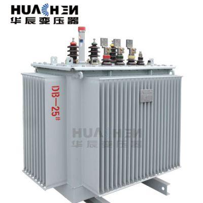 供应S11-M-50KVA/10KV三相电力变压器 油浸式变压器 江苏华辰华变牌