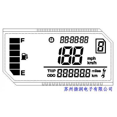 供应高质量摩托车仪表液晶屏 LCD液晶屏生产厂家