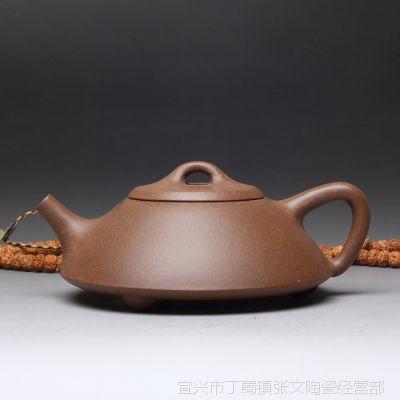 一公砂艺自产自销100%宜兴原矿老段泥传统壶型把瓢作者周圩胜