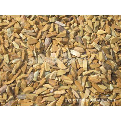 供应石英石人造石专用木纹石颗粒、碎石、碎片8-15mm