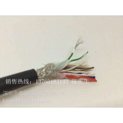 深圳耐弯曲抗拉拖链网线 高柔性抗拉耐磨拖链网线厂家现货库存