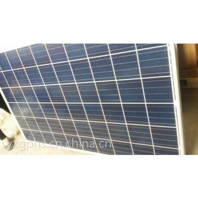 二手太阳能板回收价格255瓦260瓦多晶光伏发电板回收厂家