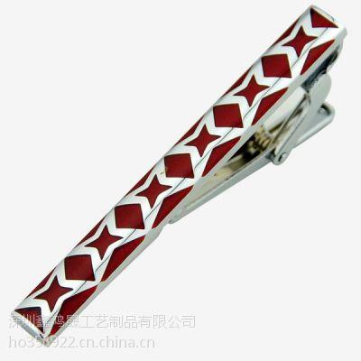南京金属领带夹定做 商务礼品领带夹厂家