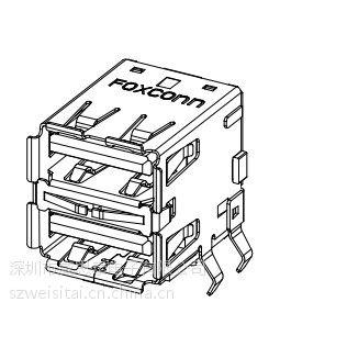 供应富士康/FOXCONN 连接器 UB11121-8FDE-4F