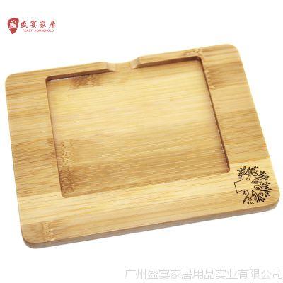 厂家定制时尚创意高档优质竹制 便签盒 便签板