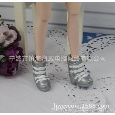 正版芭比配件玩具娃娃鞋子靴子 靴子67号
