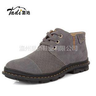 供应正品冬季新款 保暖个性时尚棉鞋 韩版时尚真皮男鞋