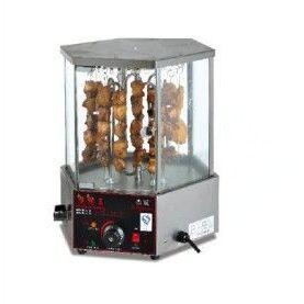 供应杰冠 EB-36 商用 旋转式羊肉串烤炉 无烟烤串机 多用烧烤箱
