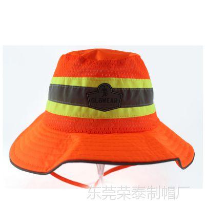 厂家直批 定制logo渔夫帽户外遮阳帽钓鱼帽 女士定制休闲成人帽