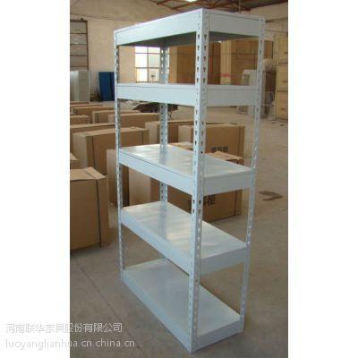 厂家直销洛阳联华钢制结构坚固耐用的轻型货架加其他柜类